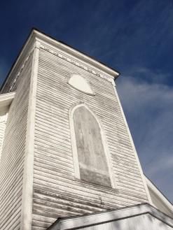View of steeple