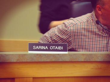 Council name plate