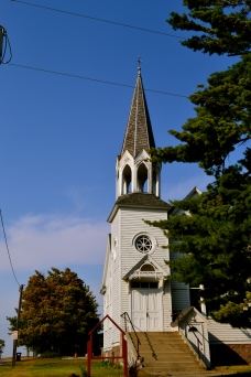 Small town church.