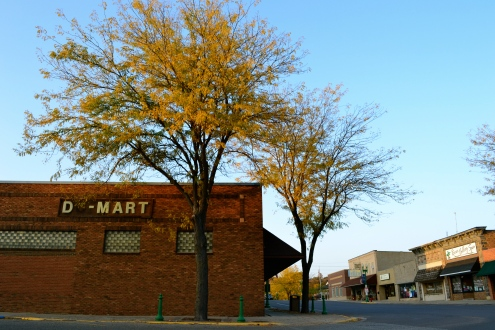 Du-Mart building, historic downtown.